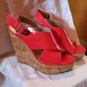 BCBG wedge shoe